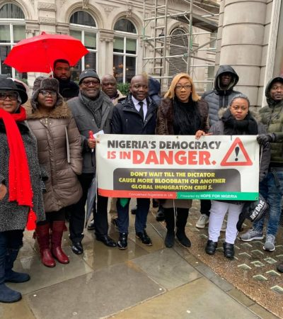 Why Nigerian Diaspora Community Is Protesting All Over The World – Metchie