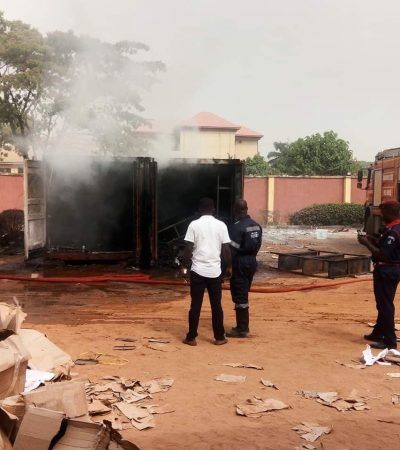 PDP Accuses APC Of Burning INEC Offices