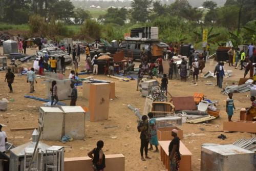 Confusion As Hoodlums' Loot Amnesty Vocation Center In Bayelsa