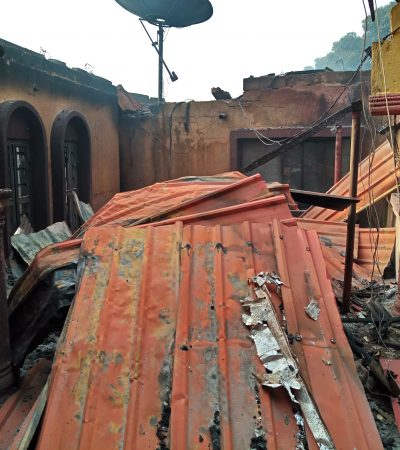 Fire Destroyed Property Worth Millions In Gboko