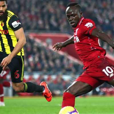 Salah, Mane earn braces to send Liverpool top of EPL again