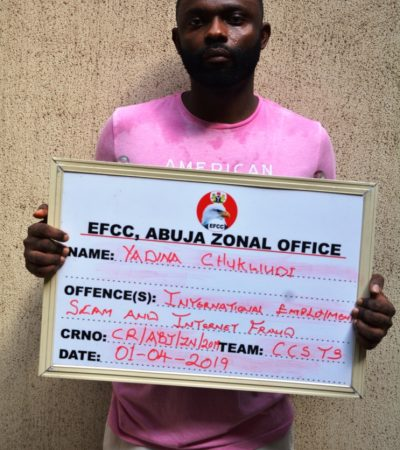 EFCC Nabs Two Suspected Internet Frausters in Abuja