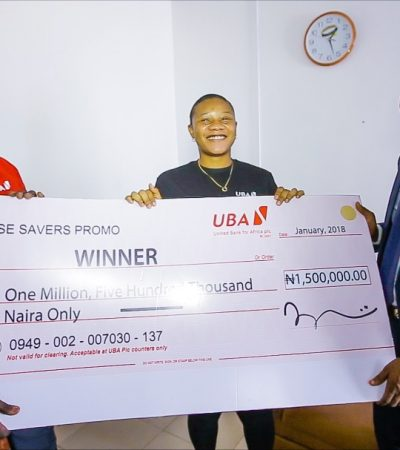 More Winners Set To Emerge In UBA Wise Savers Promo… N90m Still Up For Grabs