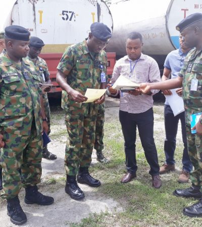Navy in Rivers seizes 3 trucks laden with petroleum products suspected to be stolen