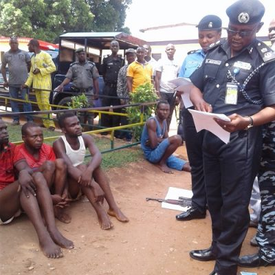 "Police Launches ""Operation Puff Adder"", Parades 19 Criminals In Benue"