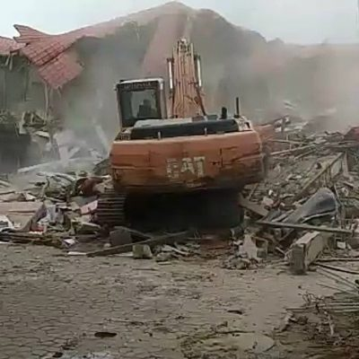 Demolished Caramelo Lounge now govt. property, says FCT Minister