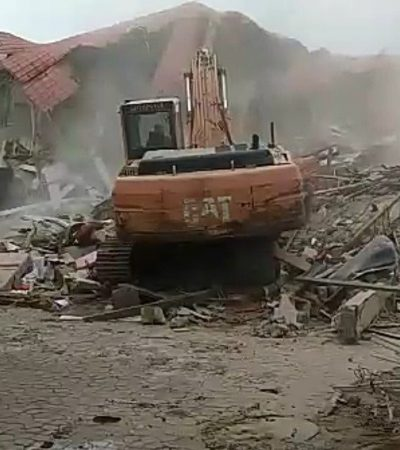 Demolished Caramelo Lounge now govt. property, says FCT Minister