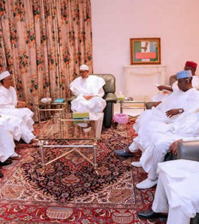 Security Challenges: Buhari meets Northern Governors at Aso Rock
