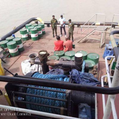 Anti-Smuggling: Navy arrests 197 smuggling suspects, destroys 637 illegal refineries