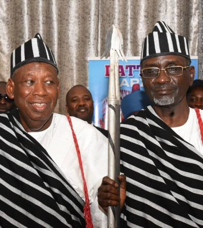 Benue Youth Crown Ganduje, Shekarau 'Grand Commanders of Politics'