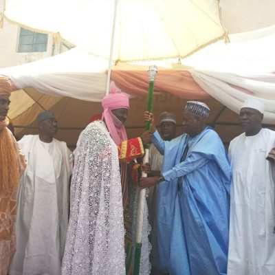 Ganduje Installs New Emirs Amidst Jubilation