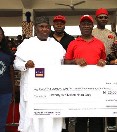 Ekweremadu Splashes N29m Scholarships/Bursary on Constituents