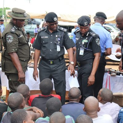 Police Operatives arrest 93 Kidnap Suspects