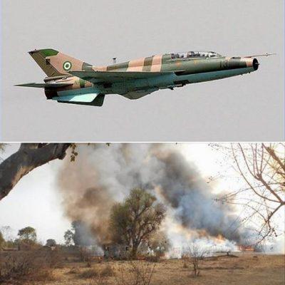 Nigerian Air Force Kills insurgents at Tumbun Hamma in Borno