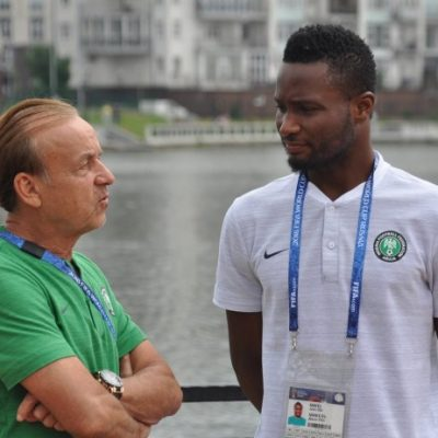 Rohr lists Mikel, 24 others for 2019 AFCON camp, places 6 on standby
