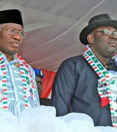 Dickson Snubs Goodluck Jonathan, Ignores His Phone Calls