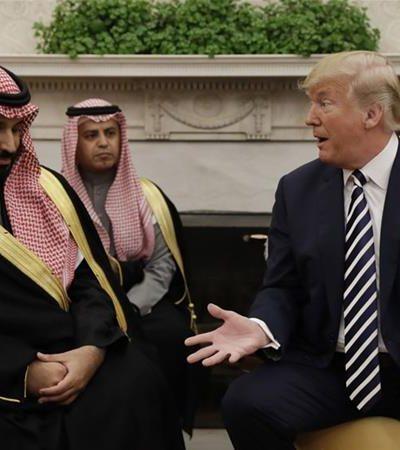 Trump OKs advanced bomb parts to be built in Saudi