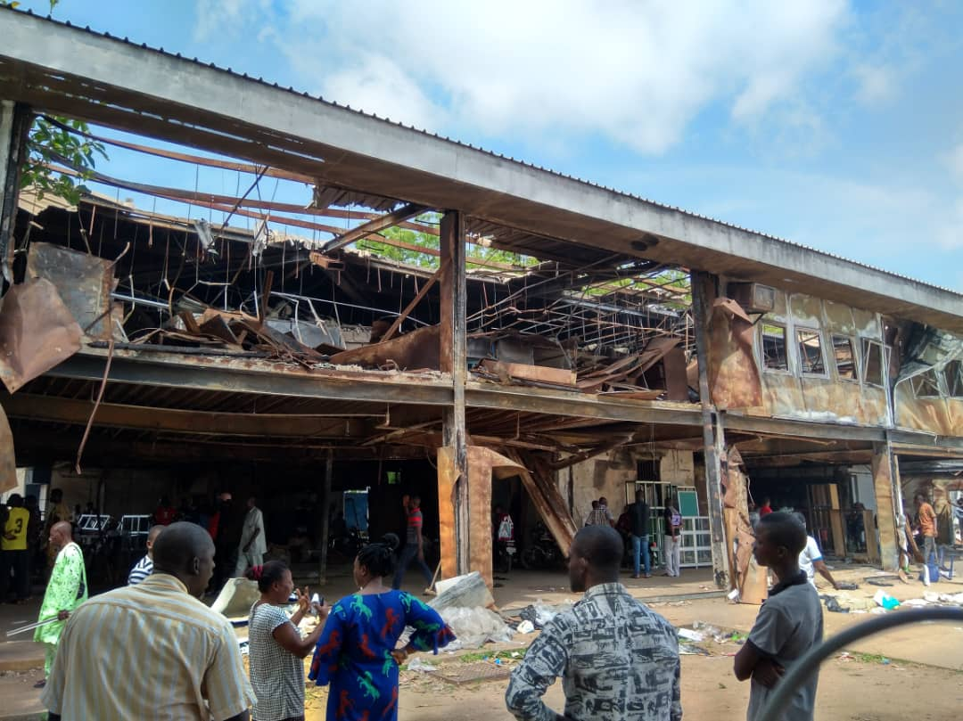 Ortom Donates 50M To Modern Market Fire Victims