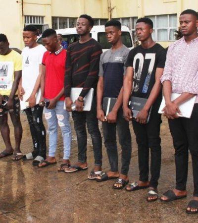 EFCC Arrests 27 Suspected Fraudsters in Ogun