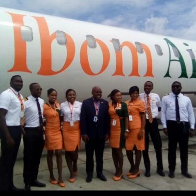 Ibom Air makes maiden flight to Lagos