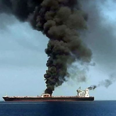 Oil prices surge after suspected tanker attack near Iran