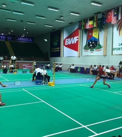5th Lagos Int'l Badminton Classics: Mixed fortunes as Nigerian players crash out