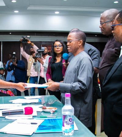 Governor Ihedioha signs Executive Order on TSA implementation