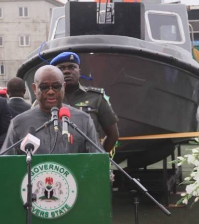 Gov. Wike inaugurates new security outfit