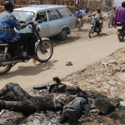 Panic As Fulani Okada Riders Kill and Burn Christian Father In Orozo, Abuja