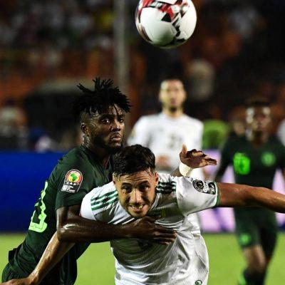 Nigeria lose to Algeria in AFCON semi-final