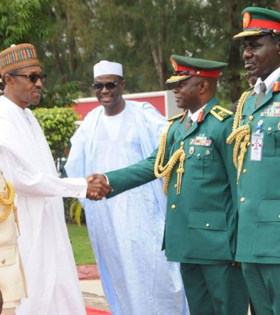 Buhari's Address At The Graduation Ceremony Of The National Defence College