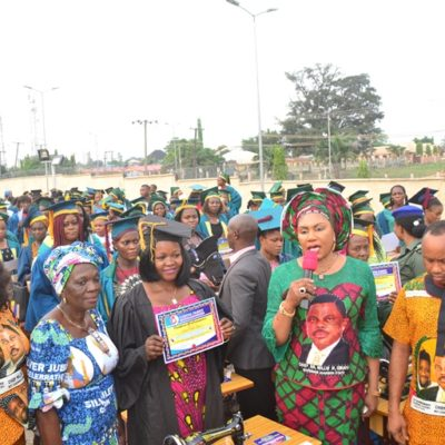Mrs Obiano Restates Commitment of CAFÉ to Donors, Beneficiaries