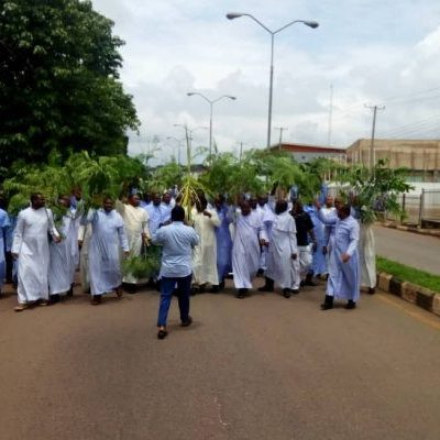 Catholic priests protest killing of colleague in Enugu