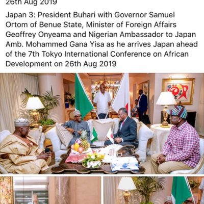 Buhari Is Not In Japan, IPOB intelligence unit Claims