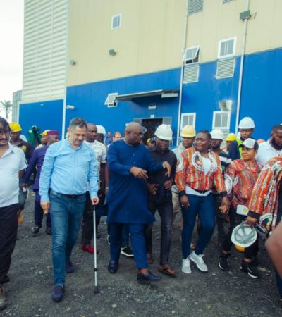 Akwa Ibom Flour Mill Boss Lauds Gov Emmanuel's Industrialization Policy, As Mill Commences Test Run