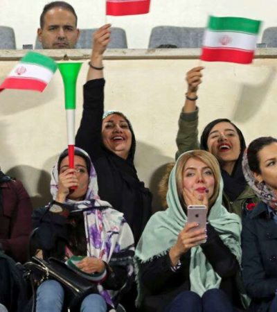 Iranian women can watch World Cup qualifier in stadium – official
