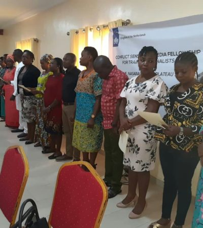 Herder/Farmer Conflicts: Search Inducts Journalists As Media Fellows In The Middle Belt
