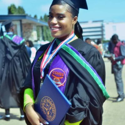 Nigerian Emerges Best Graduating Female Student in Accra Institute of Technology, Ghana