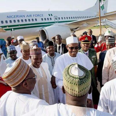 President Buhari Arrives Katsina For Sallah, Official Visit