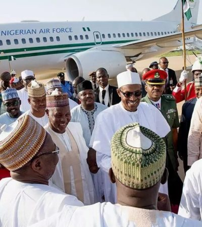 President Buhari Arrives Katsina For Sallah, Official Visit