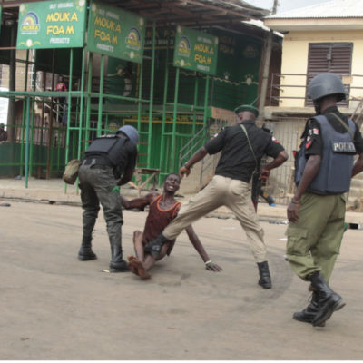 Police Brutality in Nigeria – By Binzak Azeez