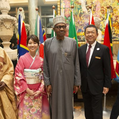 Black Japanese Girl Welcoming a Black President to Japan in the Middle of the Night; Lies, Deceit & Fake pictures