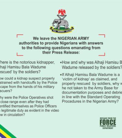 Police Indictment Exposes Buratai As Nigeria's Kidnap General, Buhari As Kidnap Grand Patron