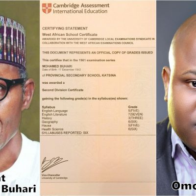 Buhari's Certificate Controversy And The Essentiality Of Education – By Omoshola Deji