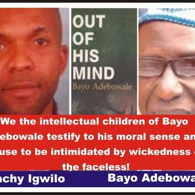 Rape Allegation: Igwilo Defends Bayo Adebowale, Calls Sahara Reporters' Journalists, Monkeys