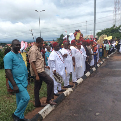 Anambra Community land crisis: Obiano wades in as citizens storm Govt House again