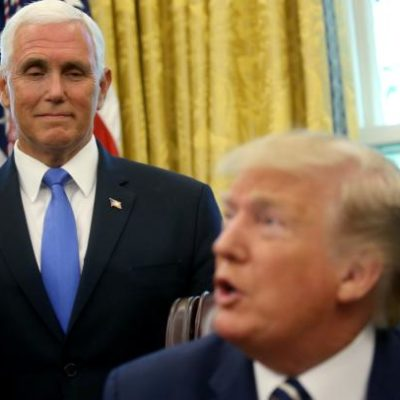 Tensions mount between Trump, Pence camps heading into 2020 election