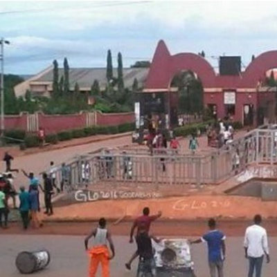 Anxiety, As Snakes Take Over Auchi Poly, Chase Female Student Out Of Bathroom Naked