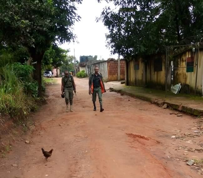 DSS Patrols Nnamdi Kanu's Home