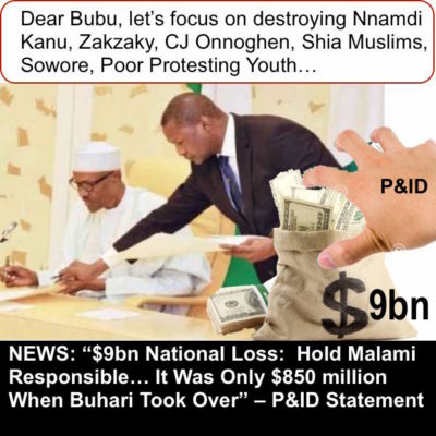 Buhari's Incredible Loss of Nigeria's $9bn: A Coup Would Have Happened By Now If It Were Military Era